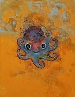 Wall Art Print entitled Baby Octopus by Michael Creese   8 x