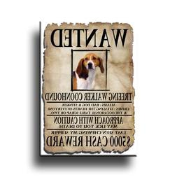 Treeing Walker Coonhound Wanted Fridge Magnet No 1
