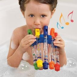 Water Flutes Whistles Music Sheets Musical Bath Time Toy Sto