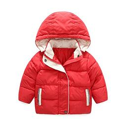 Somzie New Winter Jacket for Boy Hooded Warm Kids Boys Winte