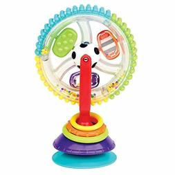 Sassy Wonder Wheel Activity Center Surfaces for Frustration