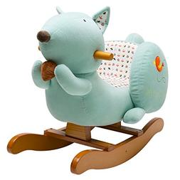 labebe Child Rocking Horse Toy, Stuffed Animal Rocker Toy, B