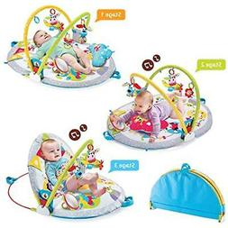 Yookidoo Gymotion Activity Centers Lay To Sit-Up Play Mat In