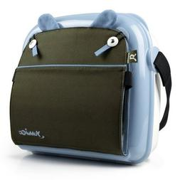 YummiGo Brown / Light Blue All-in-one Portable Booster seat/